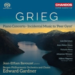 GRIEG Concerto released by CHANDOS