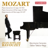 MOZART concertos released on CHANDOS