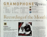 Prokofiev concertos cd RECORDING OF THE MONTH!