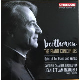 BEETHOVEN Complete Piano Concertos * Quintet for Piano & Winds