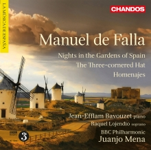 DE FALLA  ¨Nights in the Garden of Spain¨ and other stage works