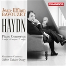 HAYDN Piano Concertos F major * D major * G major  with             Manchester Camerata, Gàbor TAKÀCS NAGY conducting