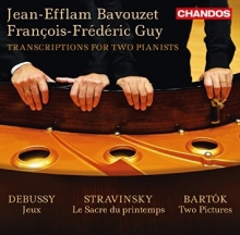 DEBUSSY Jeux  - STRAVINSKY Le Sacre du Printemps - BARTOK Two Pictures , with François Frédéric Guy