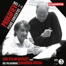 Prokofiev Complete Piano Concertos with the BBC Philharmonic Orchestra, Gianandrea NOSEDA conducting
